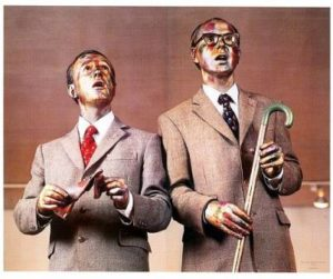 Gilbert & George performance art