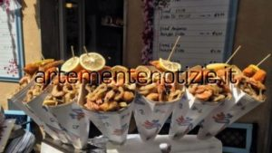 Pozzuoli International street food